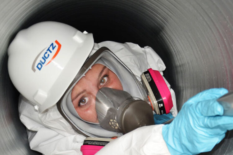 tech cleaning duct