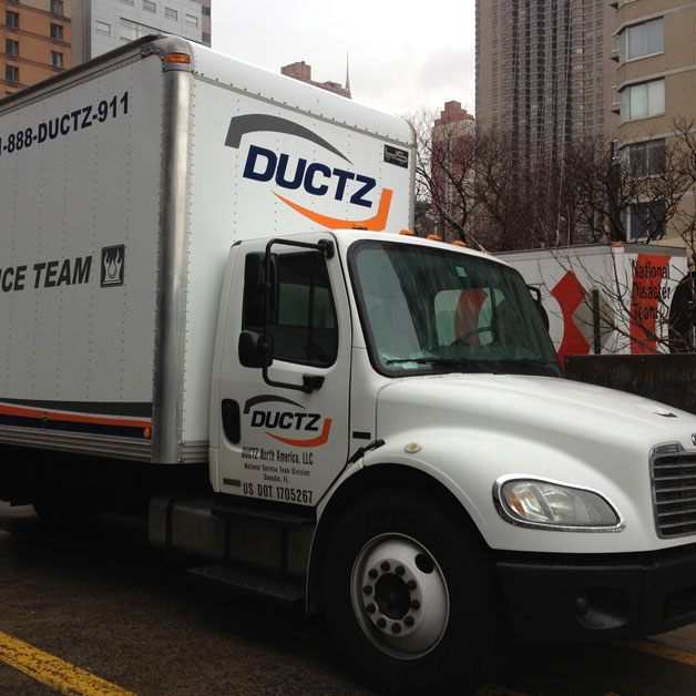 Commercial Services truck
