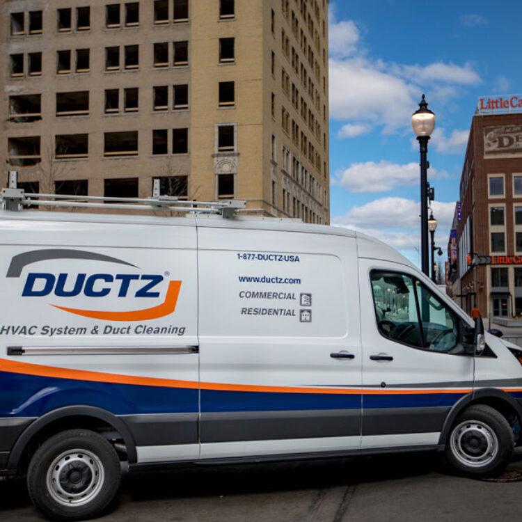 Commercial Services van