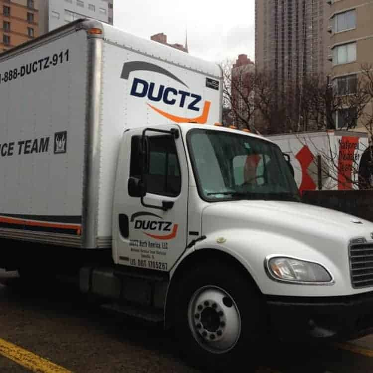 Air duct cleaning by DUCTZ helps improve indoor air quality