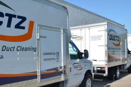 DUCTZ fleet trucks